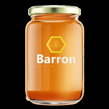 Barron Honing Bloemen Honing pot formaat groot